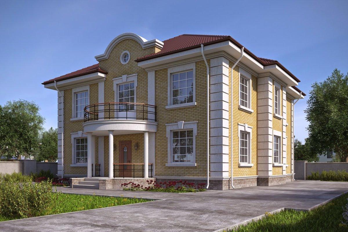 Дом в классическом стиле в Талдоме.