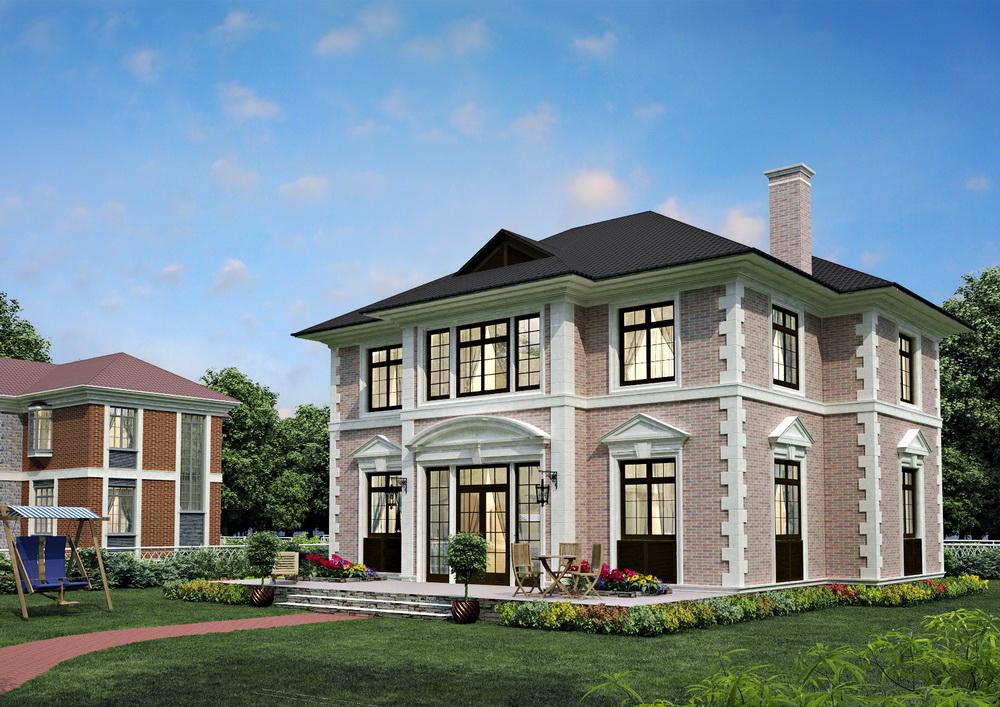 Строительство домов в английском стиле в Талдоме.