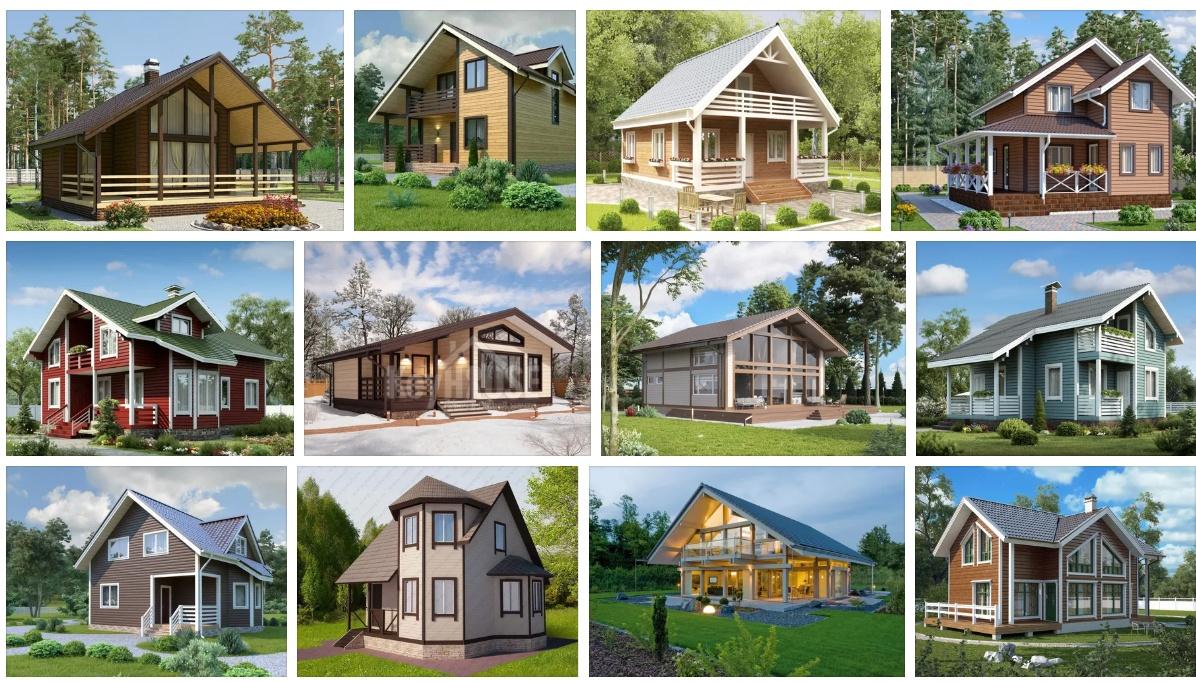 Проекты каркасных домов в Талдоме.