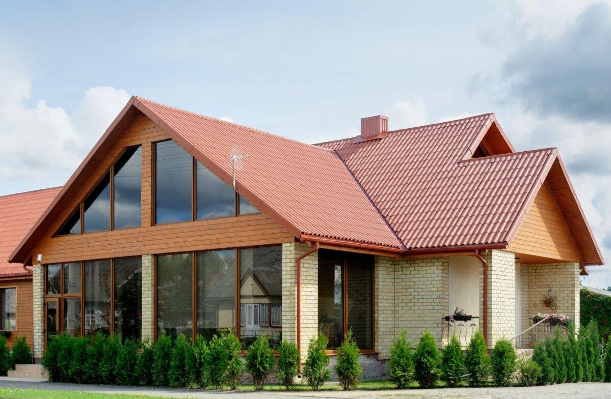 Построить скатную крышу в Талдоме.